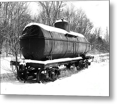 Off The Beaten Track Metal Print by Sara  Raber