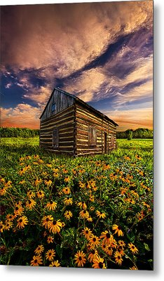 Off The Grid Metal Print by Phil Koch