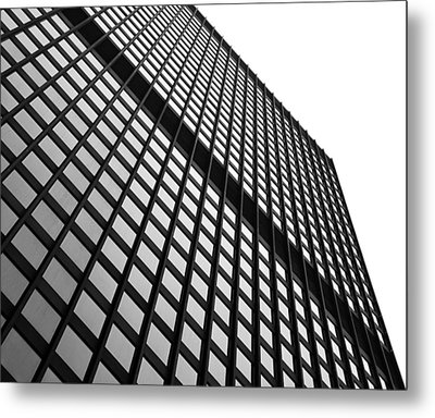 Office Building Facade Metal Print by Valentino Visentini