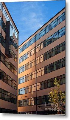 Office Building Malmo Metal Print by Antony McAulay