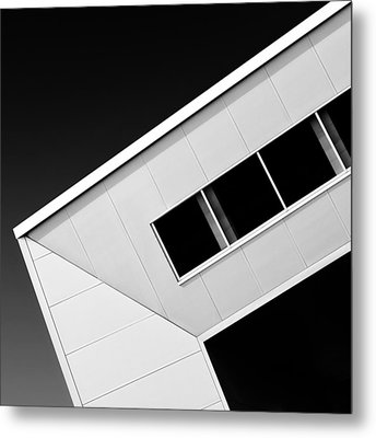 Office Corner Metal Print by Dave Bowman