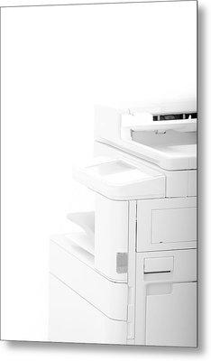 Office Multifunction Printer Metal Print by Frank Gaertner