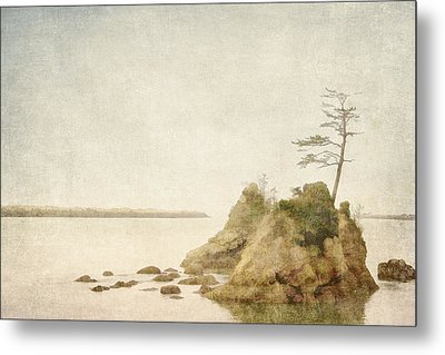 Offshore Rocks Oregon Coast Metal Print by Carol Leigh