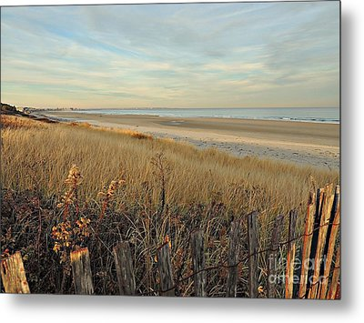 Ogunquit Beach 3 Metal Print by Marcia Lee Jones