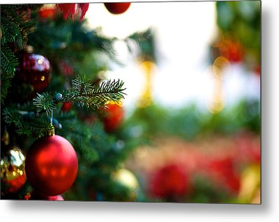 Oh Christmas Tree Metal Print