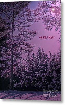 Oh Holy Night Metal Print