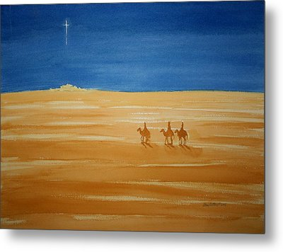 Oh Holy Night Metal Print by Stacy C Bottoms