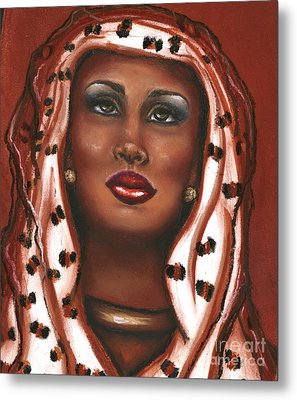 Metal Print featuring the mixed media Oh Lord I Need Your Help by Alga Washington