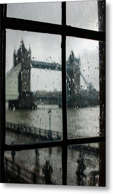 Metal Print featuring the photograph Oh So London by Georgia Mizuleva