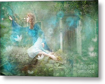 Oh Spring Oh Where Are You Metal Print by Angel  Tarantella
