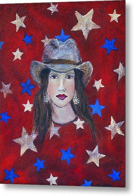Oh Suzannah Metal Print by The Art With A Heart By Charlotte Phillips