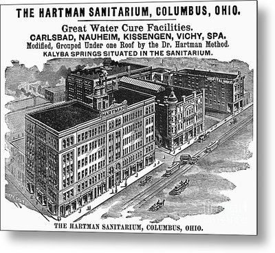 Ohio: Sanitarium, 1901 Metal Print by Granger