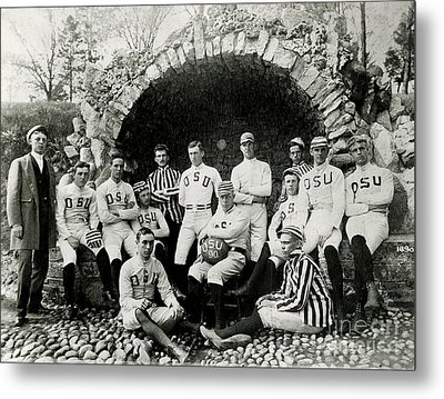 Ohio State Football Circa 1890 Metal Print by Jon Neidert