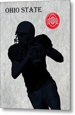 Ohio State Football Metal Print by David Dehner