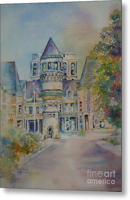 Ohio State Reformatory Metal Print by Mary Haley-Rocks