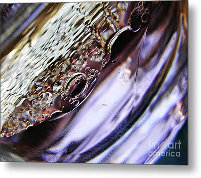 Oil And Water 29 Metal Print by Sarah Loft