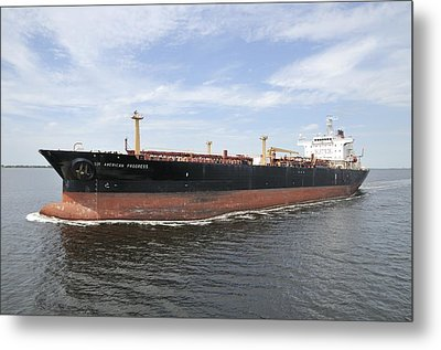 Oil Tanker Metal Print