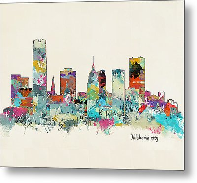 Oklahoma City Oklahoma Metal Print by Bri B