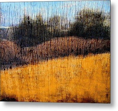 Oklahoma Prairie Landscape Metal Print