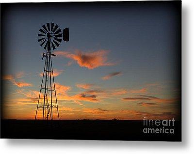 Oklahoma Skies 1 Metal Print