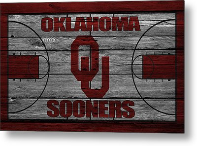 Oklahoma Sooners Metal Print by Joe Hamilton