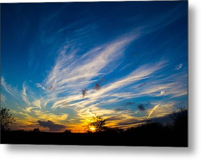 Oklahoma Sunset Metal Print