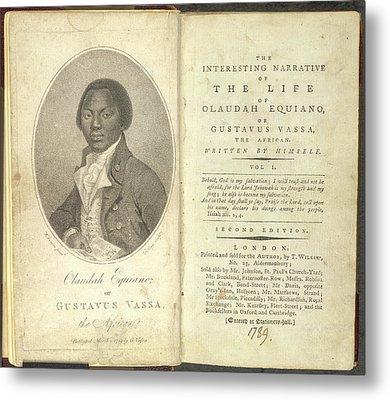 Olaudah Equiano Metal Print by British Library