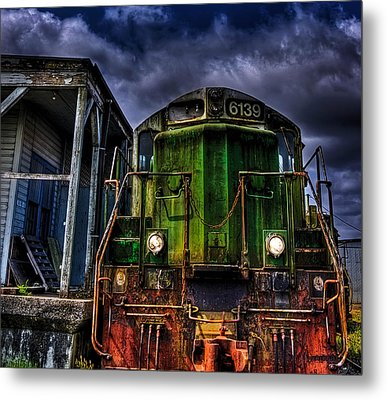 Metal Print featuring the photograph Old 6139 Locomotive by Thom Zehrfeld