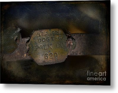 Old 620 Metal Print by The Stone Age