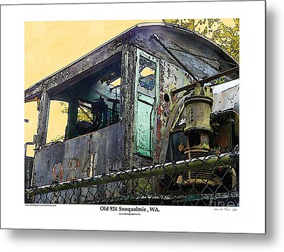 Metal Print featuring the photograph Old 924 by Kenneth De Tore