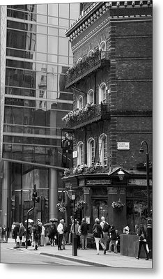 Old And New Metal Print by Chevy Fleet