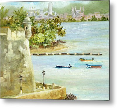 Old And New San Juan Metal Print by Monica Linville