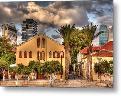 Old And New Metal Print by Uri Baruch