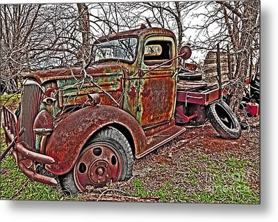 Old And Tired Metal Print by Pattie Calfy