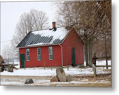 Old Ashland School House Metal Print