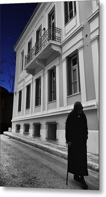 Old Athens Metal Print by Stellina Giannitsi