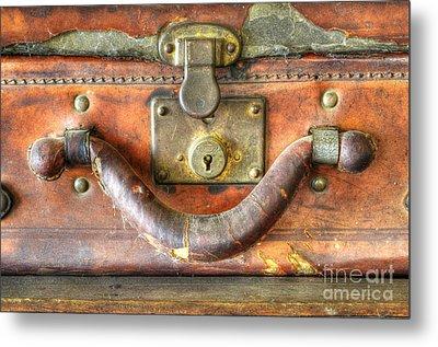 Old Baggage Metal Print by Bob Christopher