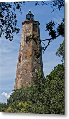 Old Baldy Metal Print by Sandra Anderson