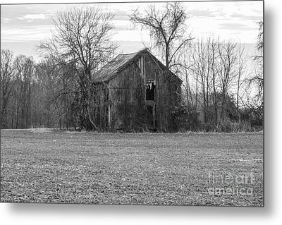 Old Barn Metal Print by Charles Kraus