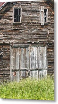 Old Barn In Maine Metal Print by Keith Webber Jr