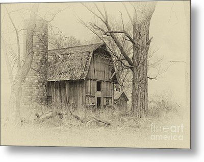 Old Barn Metal Print by JRP Photography