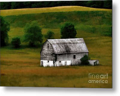 Old Barn Near Buckhannon Metal Print