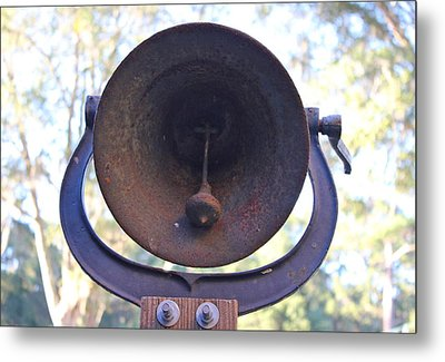 Metal Print featuring the photograph Old Bell by Lorna Maza