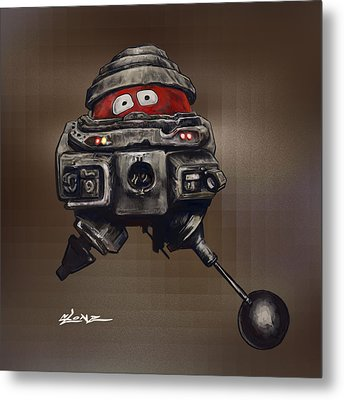 Old Bob Metal Print by Jorge Terrell