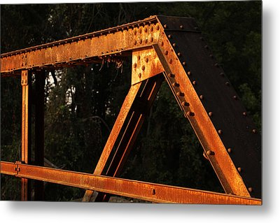 Old Bridge Metal Print