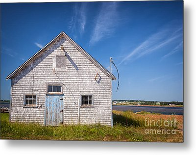 Old Building In North Rustico Metal Print by Elena Elisseeva