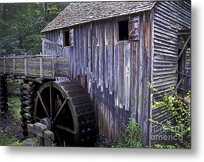 Old Cades Cove Mill Metal Print by Paul W Faust -  Impressions of Light