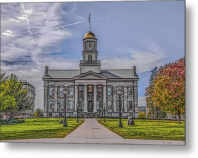 Old Capitol Metal Print by Ray Congrove