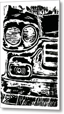 Old Car Metal Print by Jame Hayes
