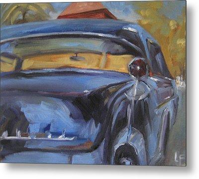 Old Car Metal Print by Lindsay Frost